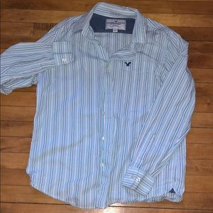 Men's AE Vintage Fit Causal Button Up